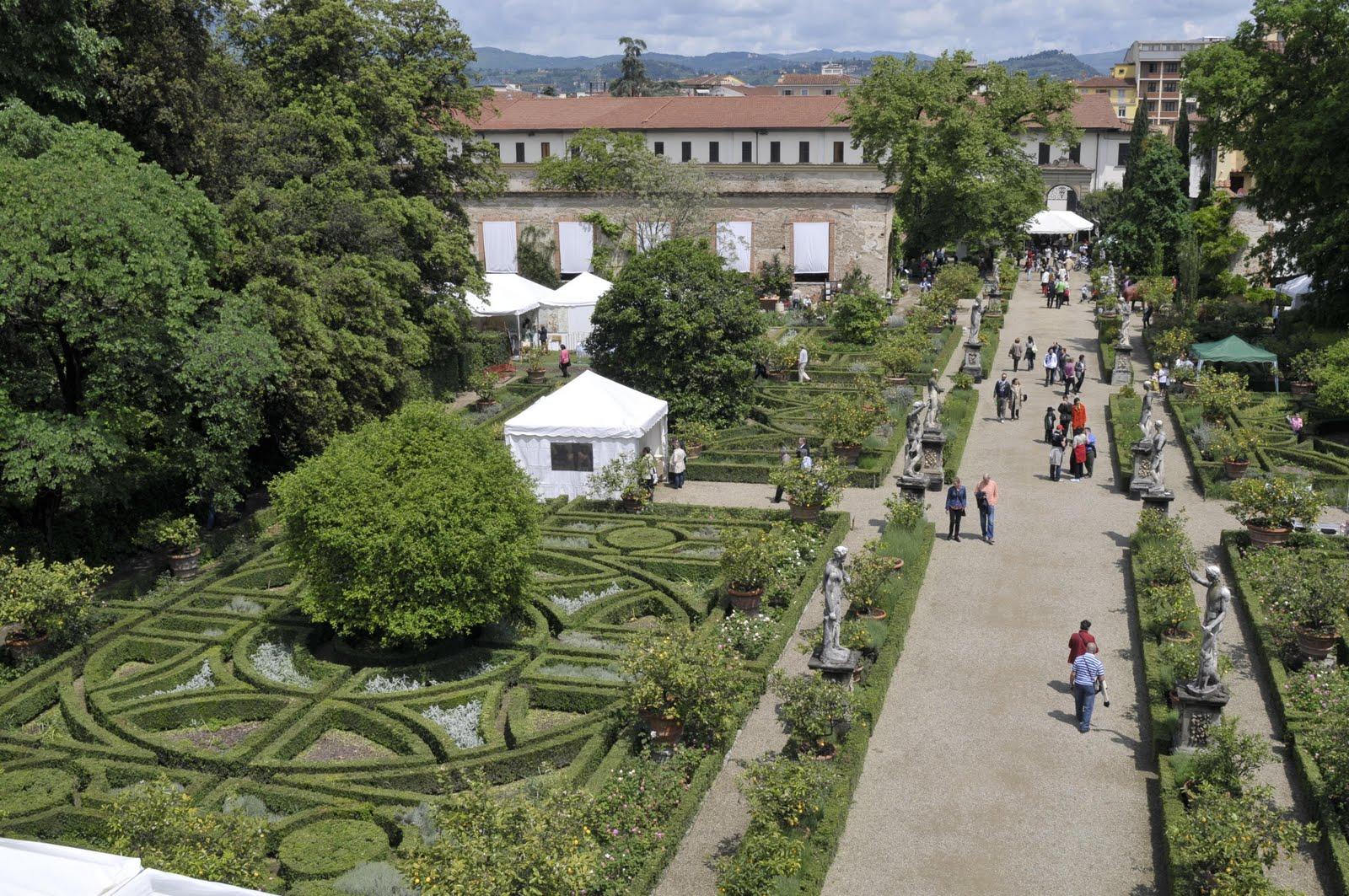 Italian botanical heritage giardino corsini al prato - I giardini di palazzo rucellai a firenze ...