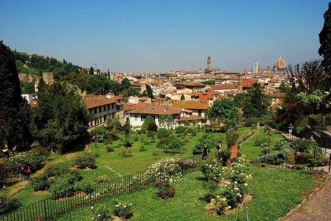 Italian botanical heritage giardino delle rose - Giardino delle rose firenze ...