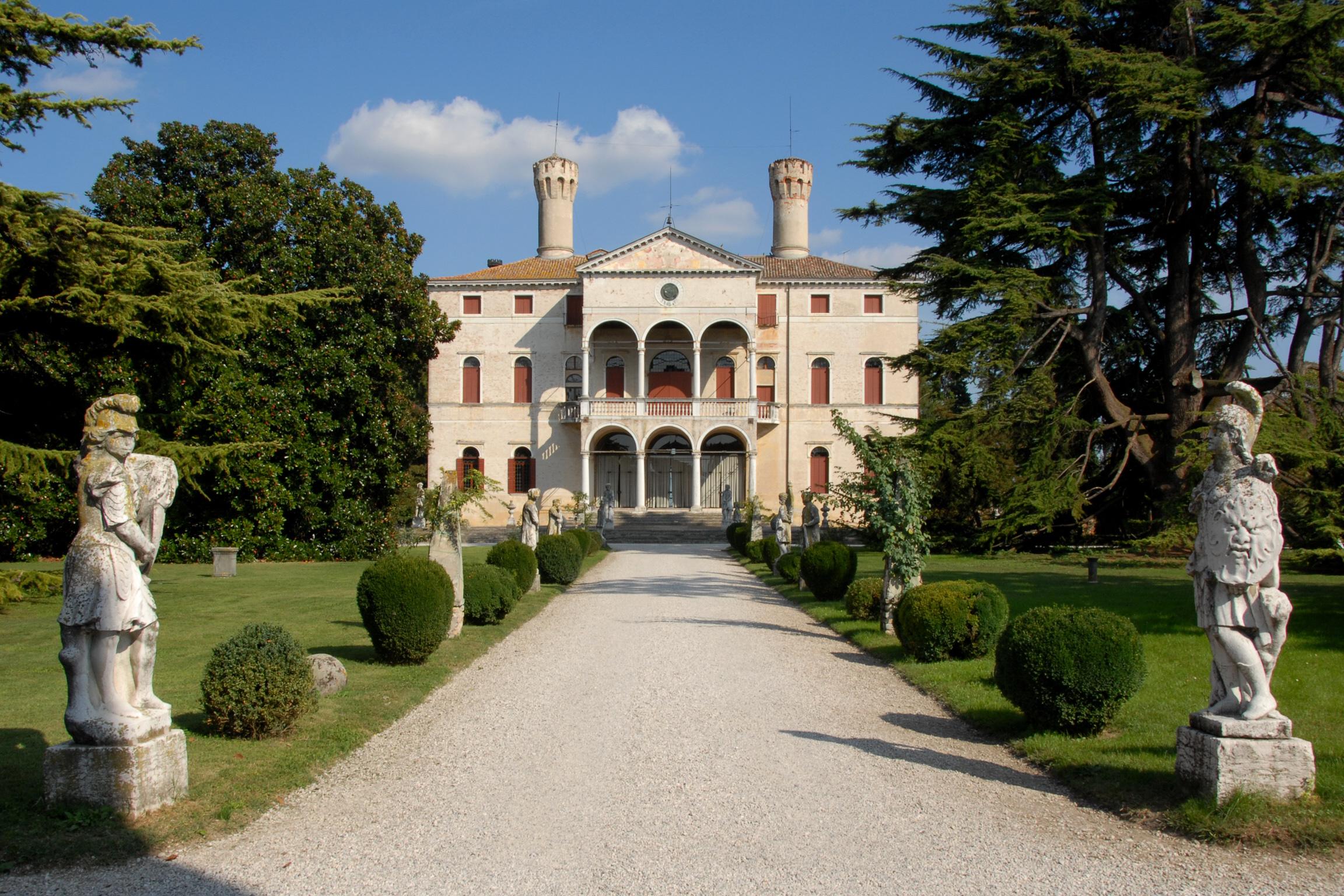 italian botanical heritage villa giustinian castello
