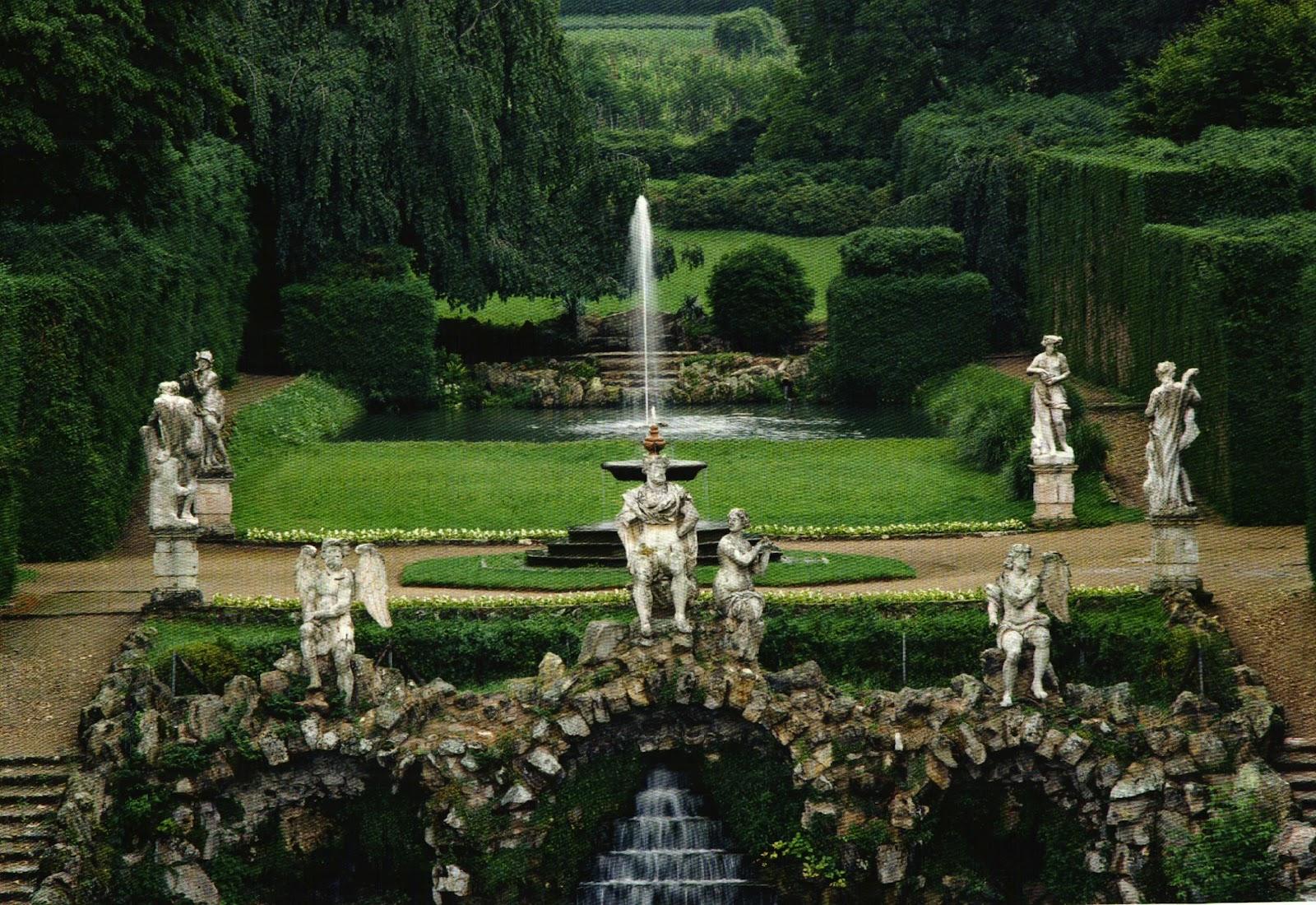 Italian Botanical Heritage Giardino Di Villa Barbarigo