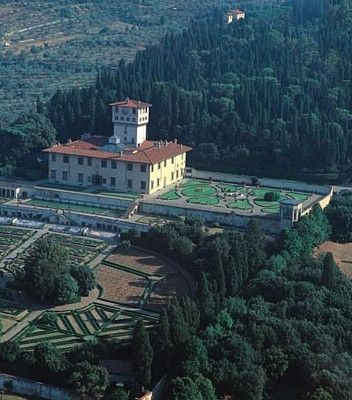 Italian botanical heritage villa la petraia villa for Villa la petraia